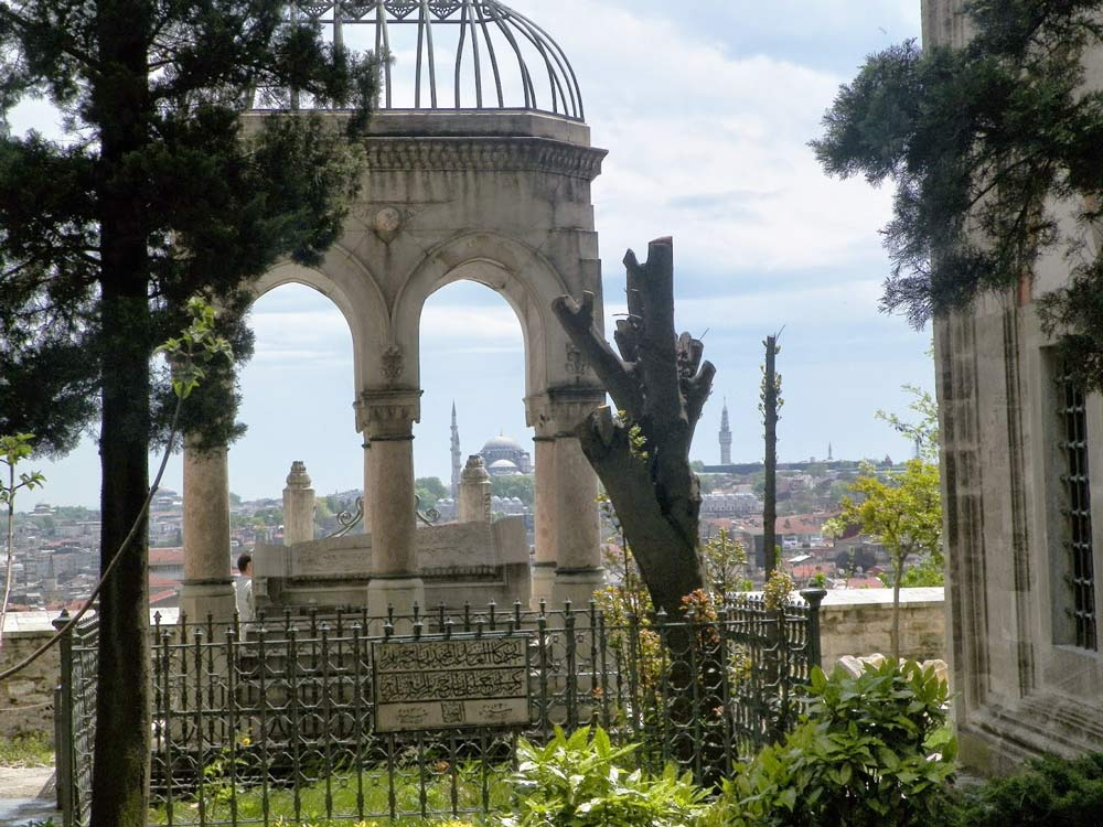 арка с садами