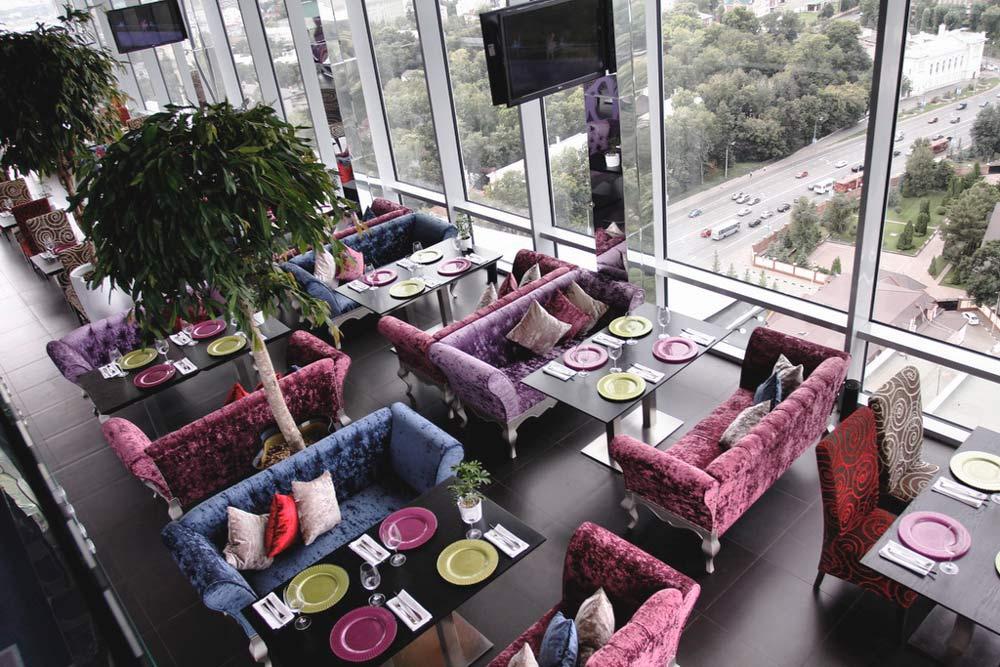 кафе с панорамным видом на Казань