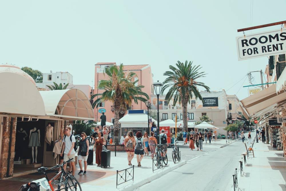 Улицы Крита