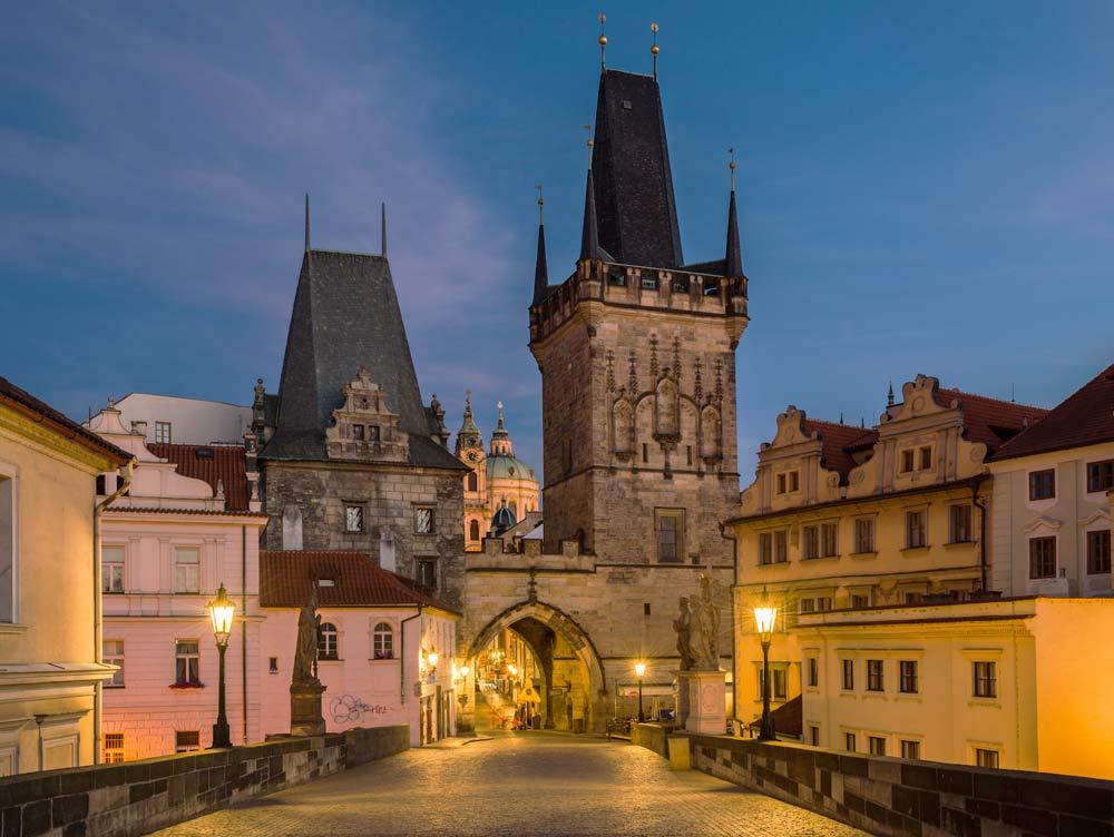 ночная столица Чехии