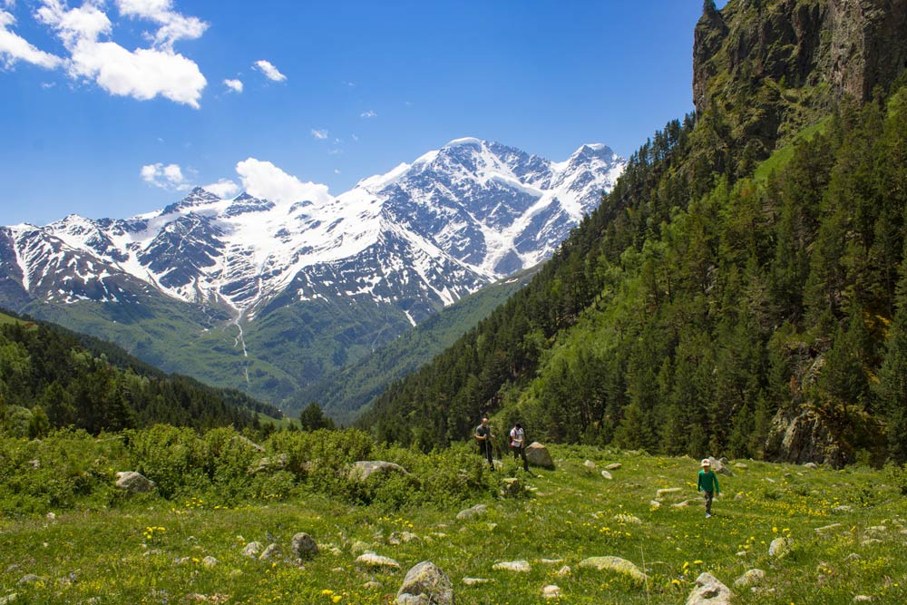 отдых в горах летом