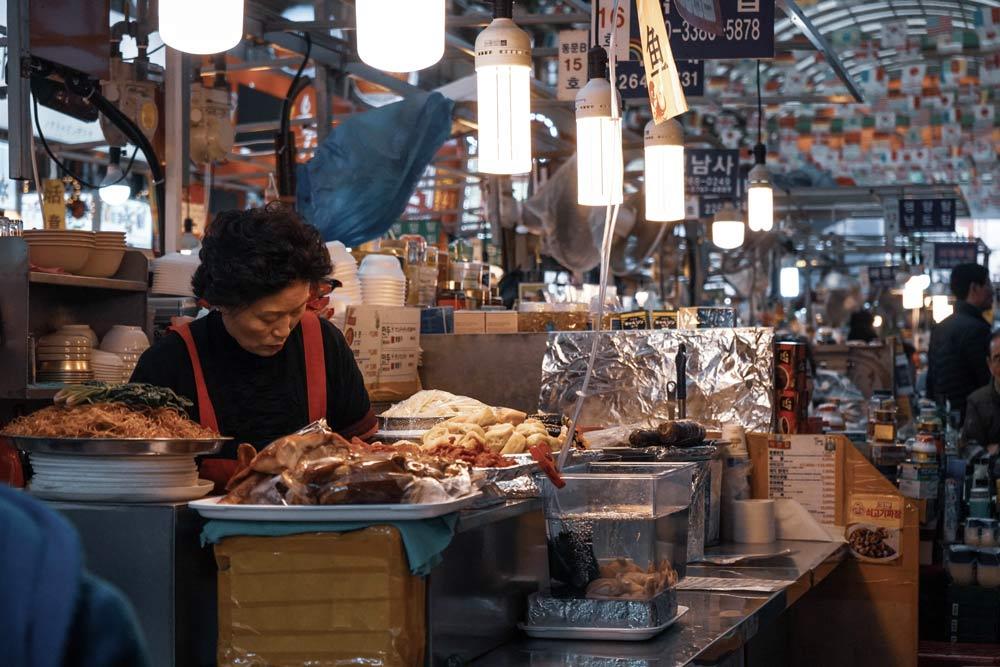 еда в Южной Корее