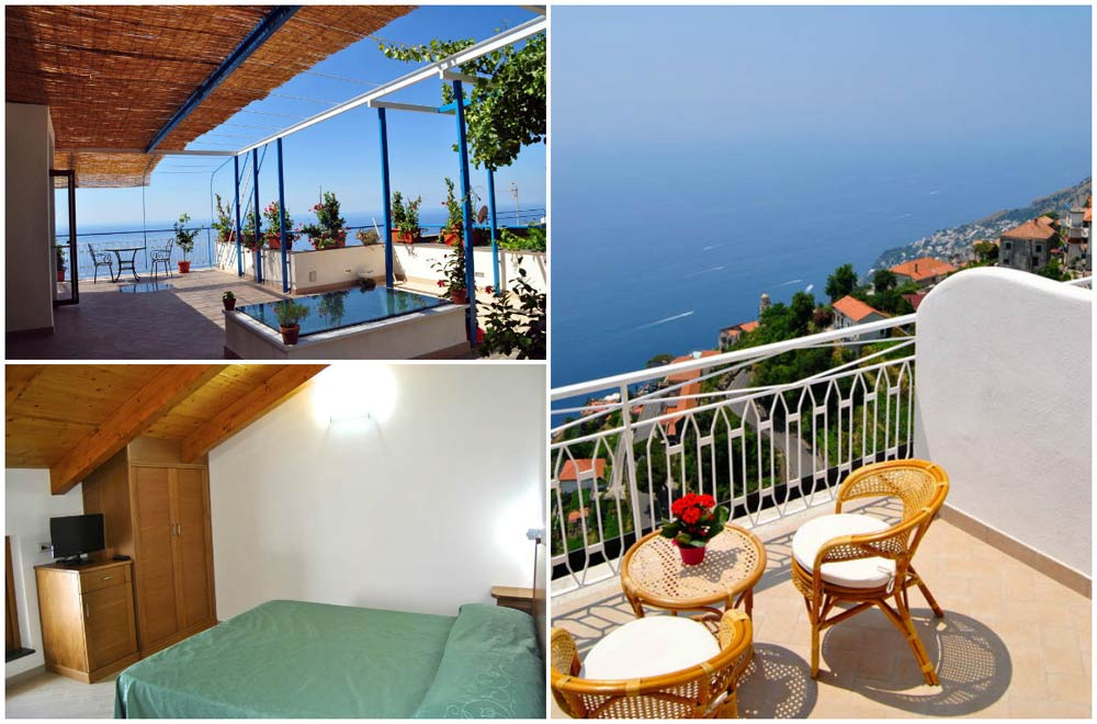отели Италии с видом на море