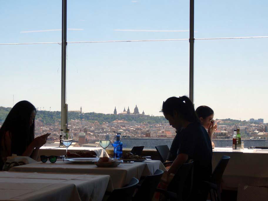 Вид из ресторана