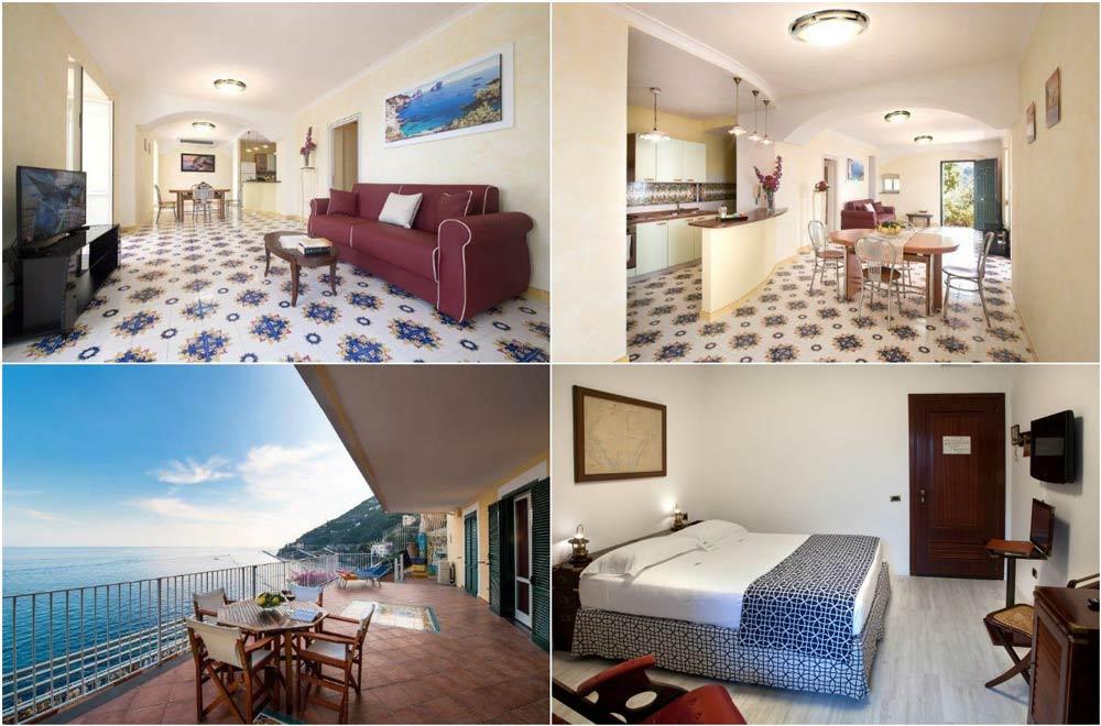 апартаменты на амальфитианском побережье