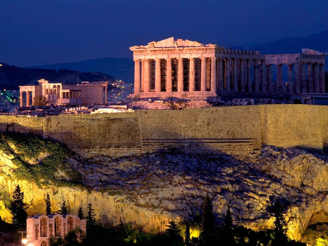 красивые места Греции