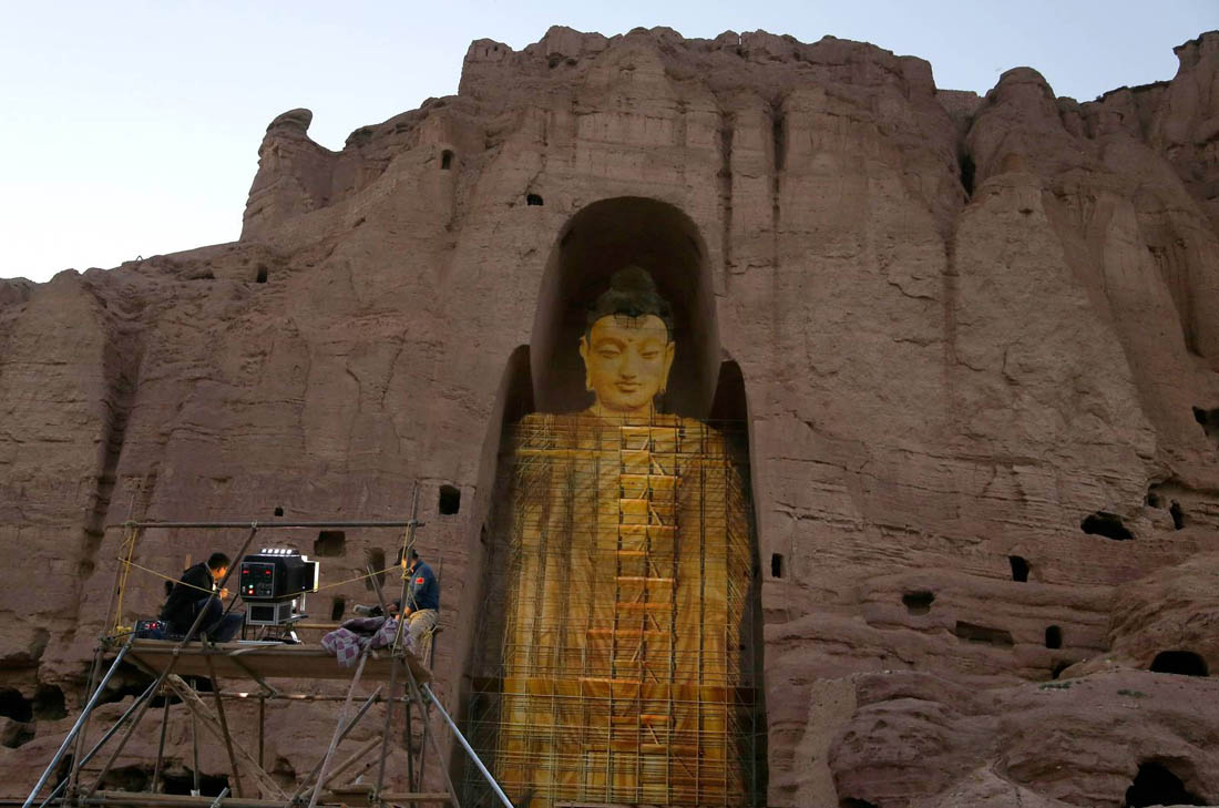 фотографию памятник будды в афганистане фото быть