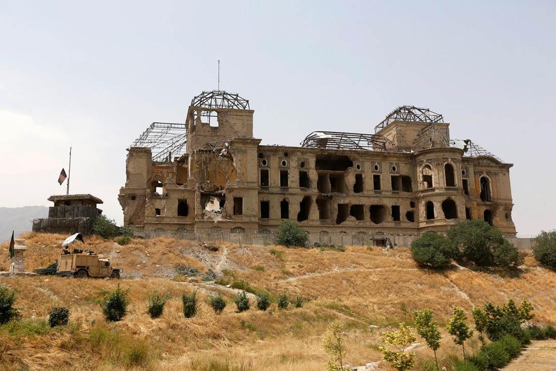 развалины архитектуры