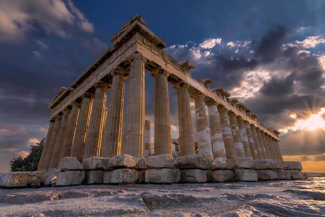 Развалины Парфенона