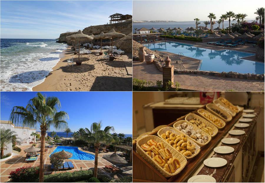 пляжный отель в Египте