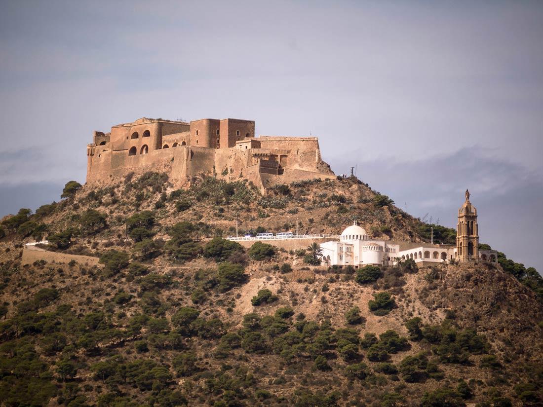 Крепость в Алжире