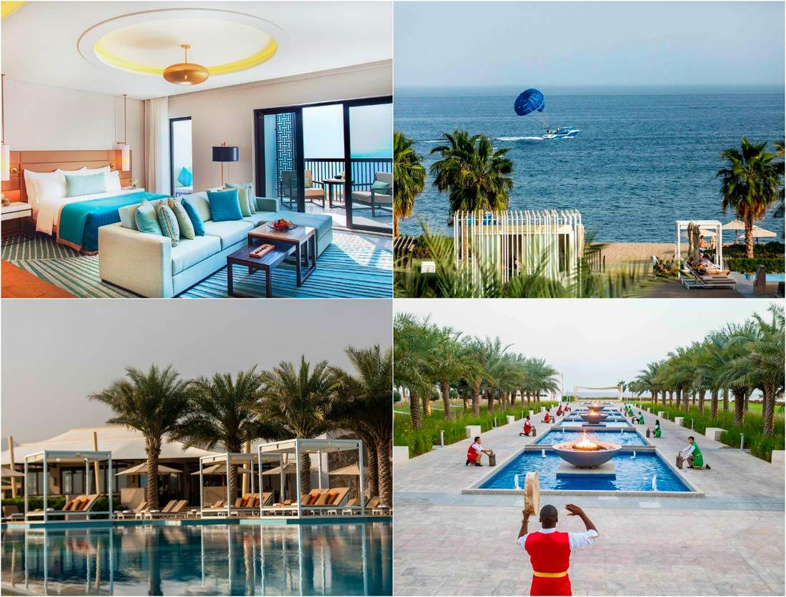 Гостиницы Фуджейры с собственным пляжем