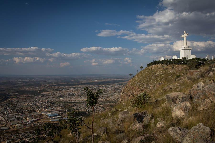 Вид на Лубанго