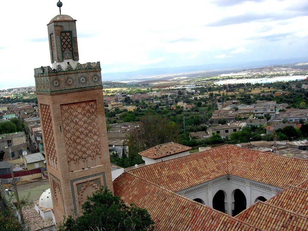 Вид на мечеть сверху