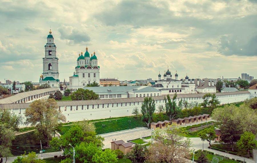Астраханский Кремль со смотровой площадки