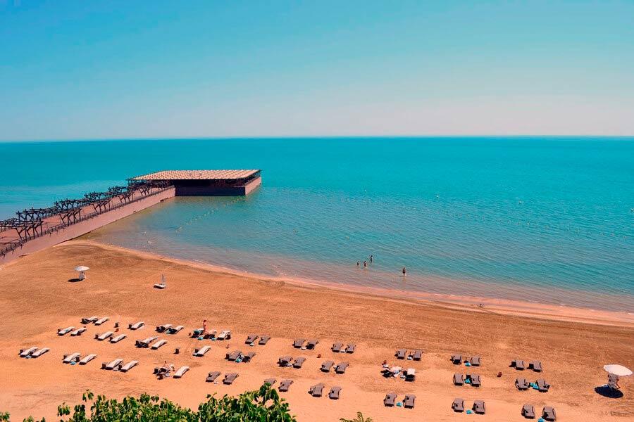 Пляжный отдых в Баку