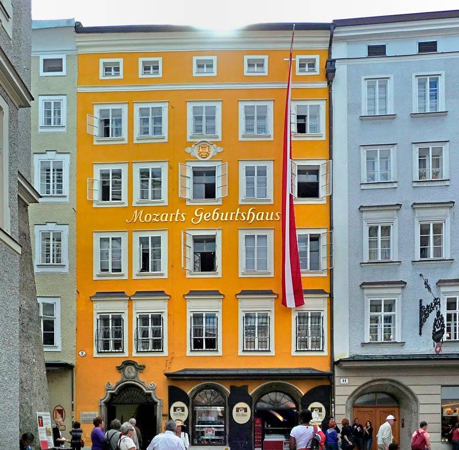 Дом Моцарта