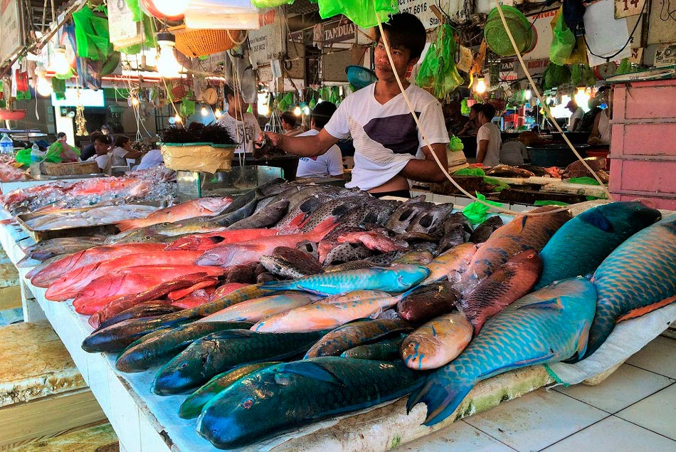 Джимбаранский рыбный рынок