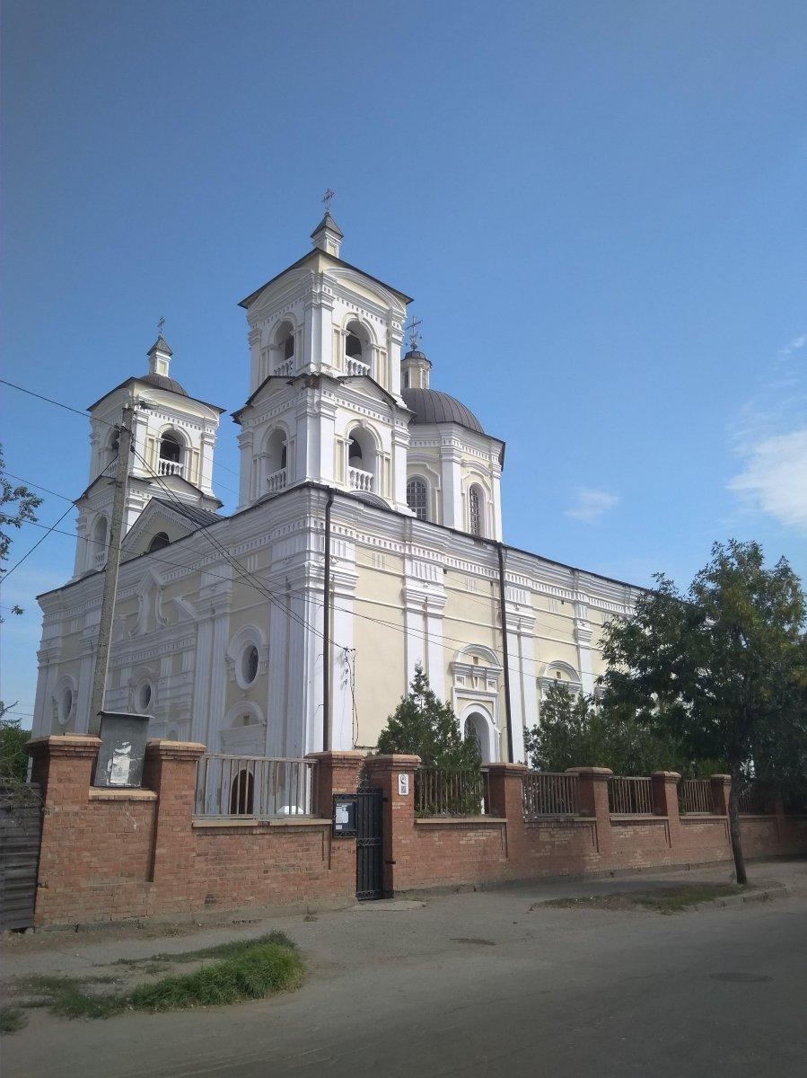 Католический храм Успения Богородицы