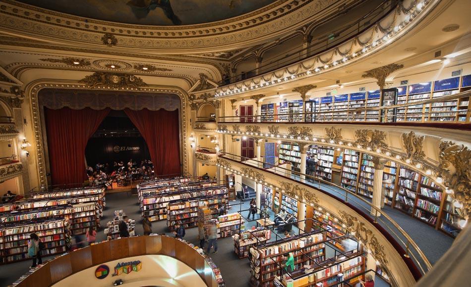 Книжный магазин Libreria El Ateneo