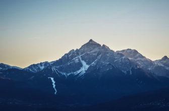 Закат в Альпах