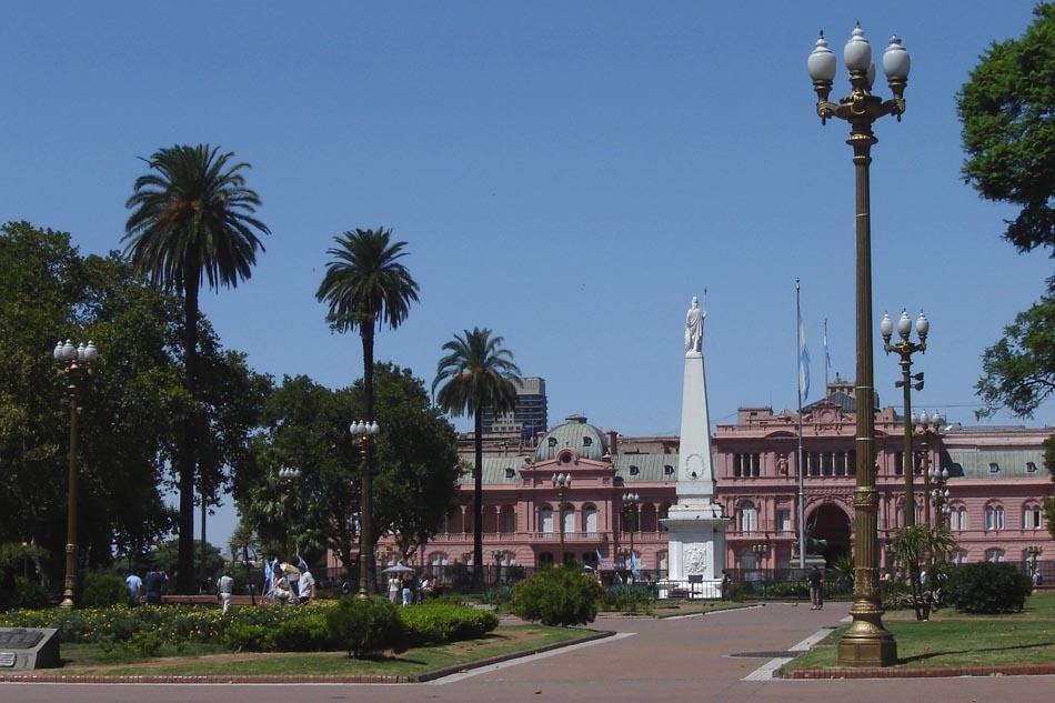 Площадь Plaza de Mayo