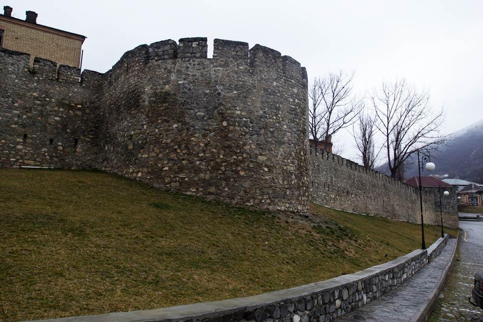 Шекинская крепость