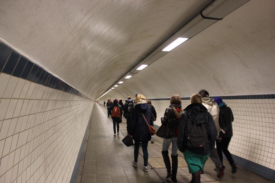 Тоннель Святой Анны