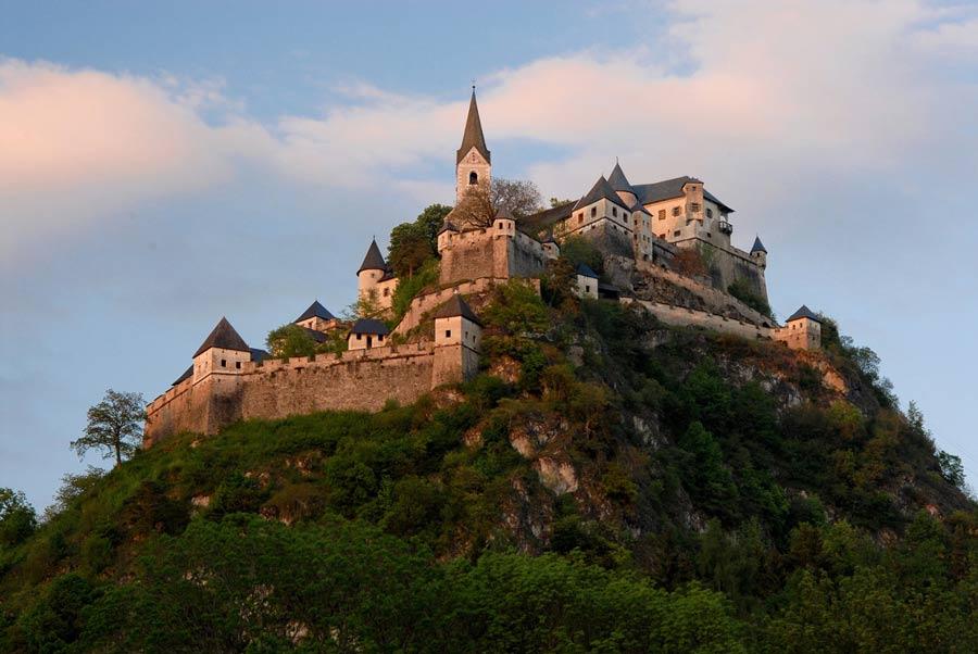 Замок Хохостервиц в Каринтии