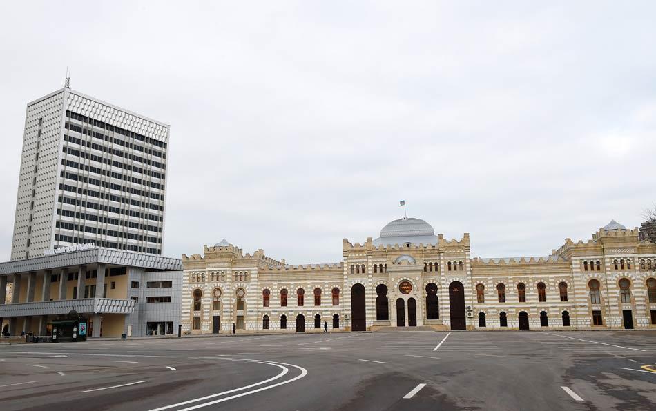 Железнодорожный вокзал Баку