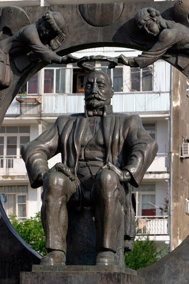 Памятник Ильи Чавчавадзе