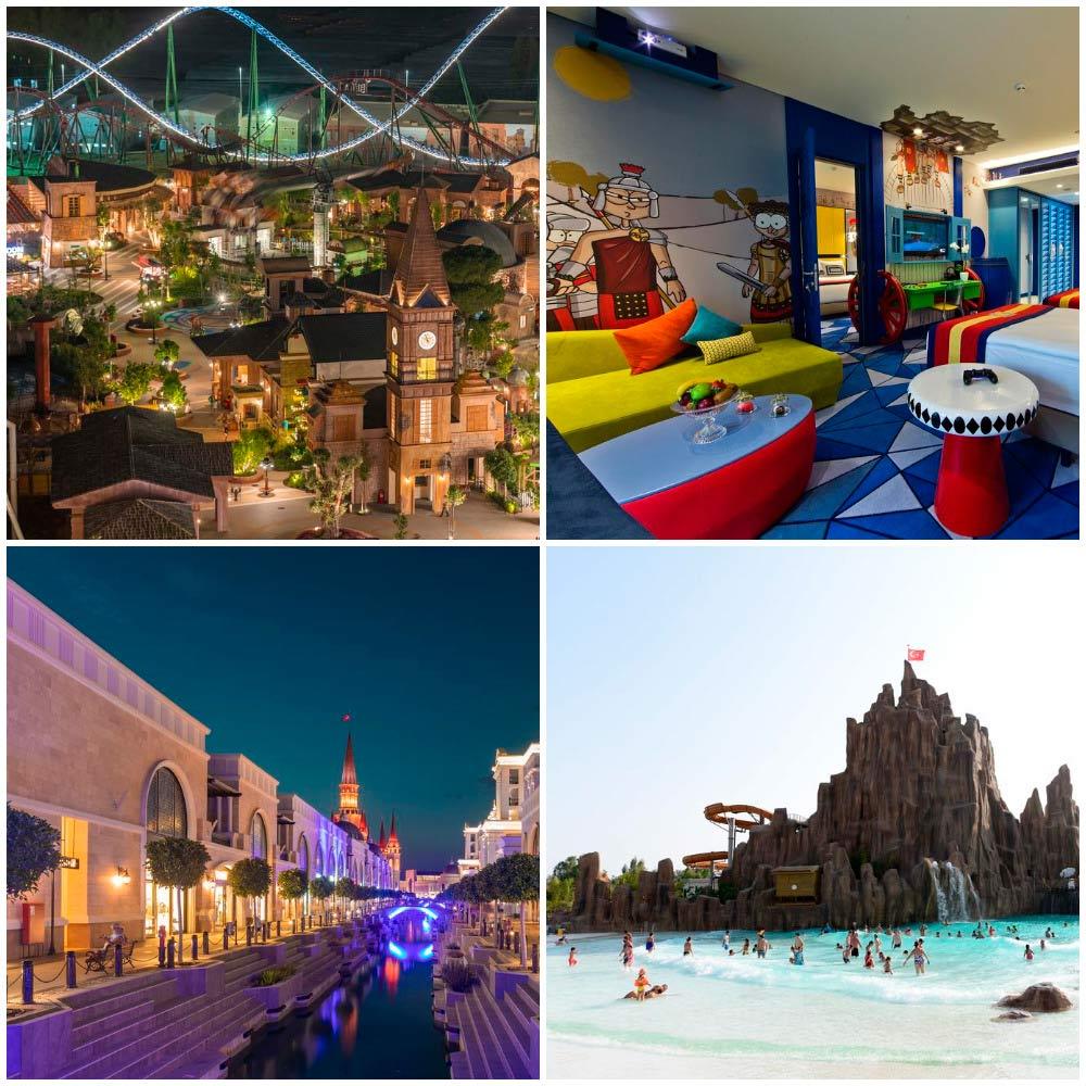 Отели Турции с аквапарком для отдыха с детьми