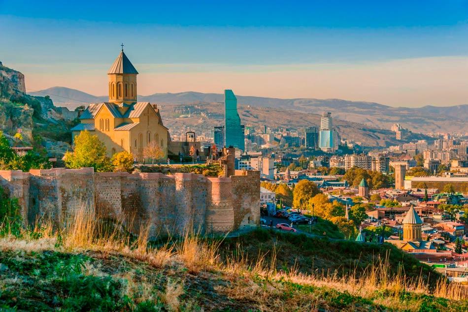 Крепость Нарикала (Тбилиси)