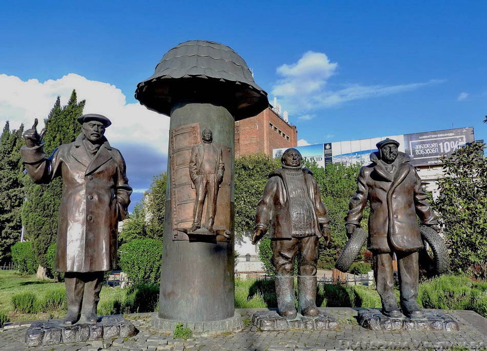 Памятник «Мимино» (Тбилиси)