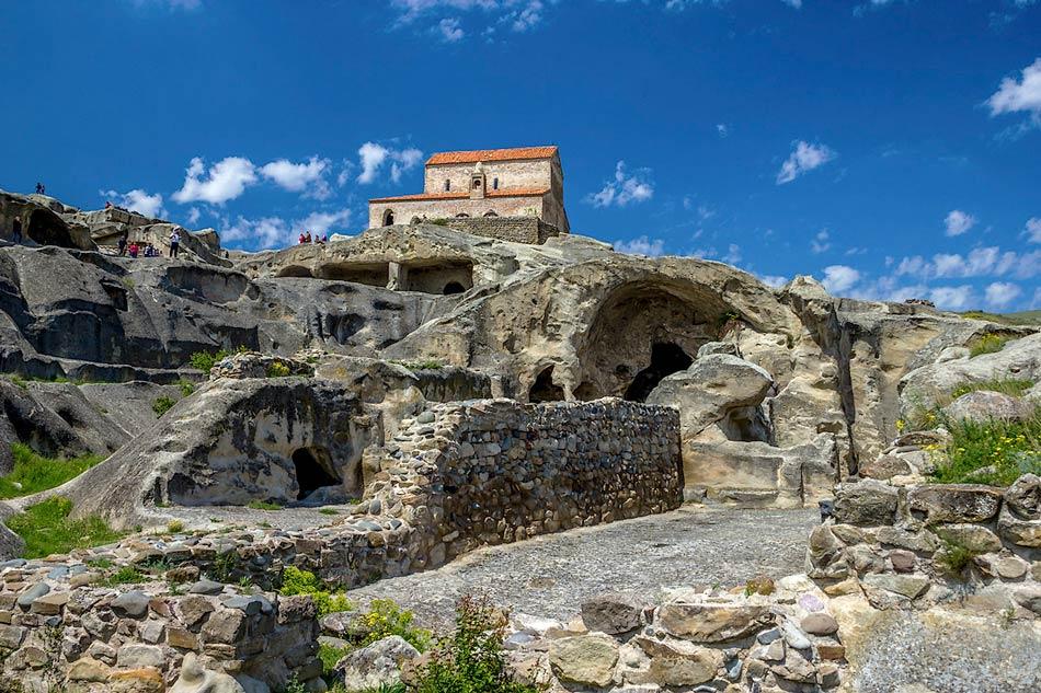 Пещерный город Уплисцихе (Гори)