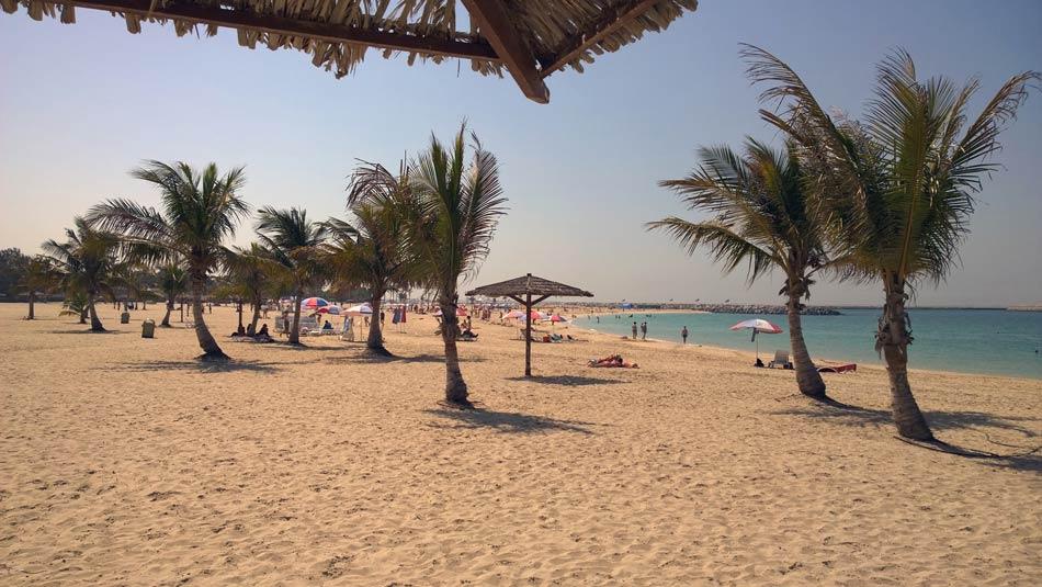 Пляжный парк Аль-Мамзар