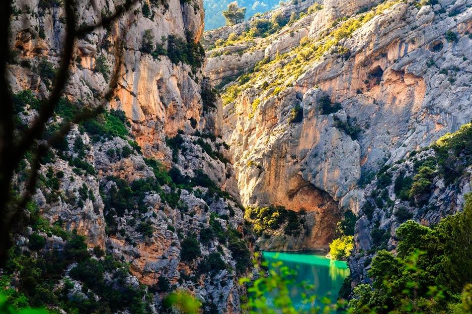 Вердонское ущелье в Провансе