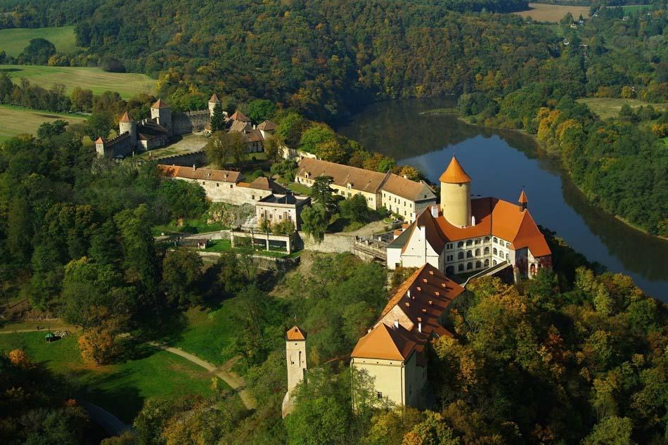 Замок Вевержи Брно