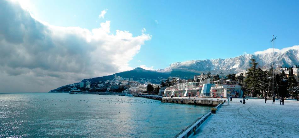 Фото Крыма зимой
