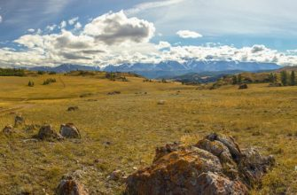 Панорама плато Укок