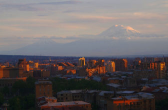 Фото города Ереван