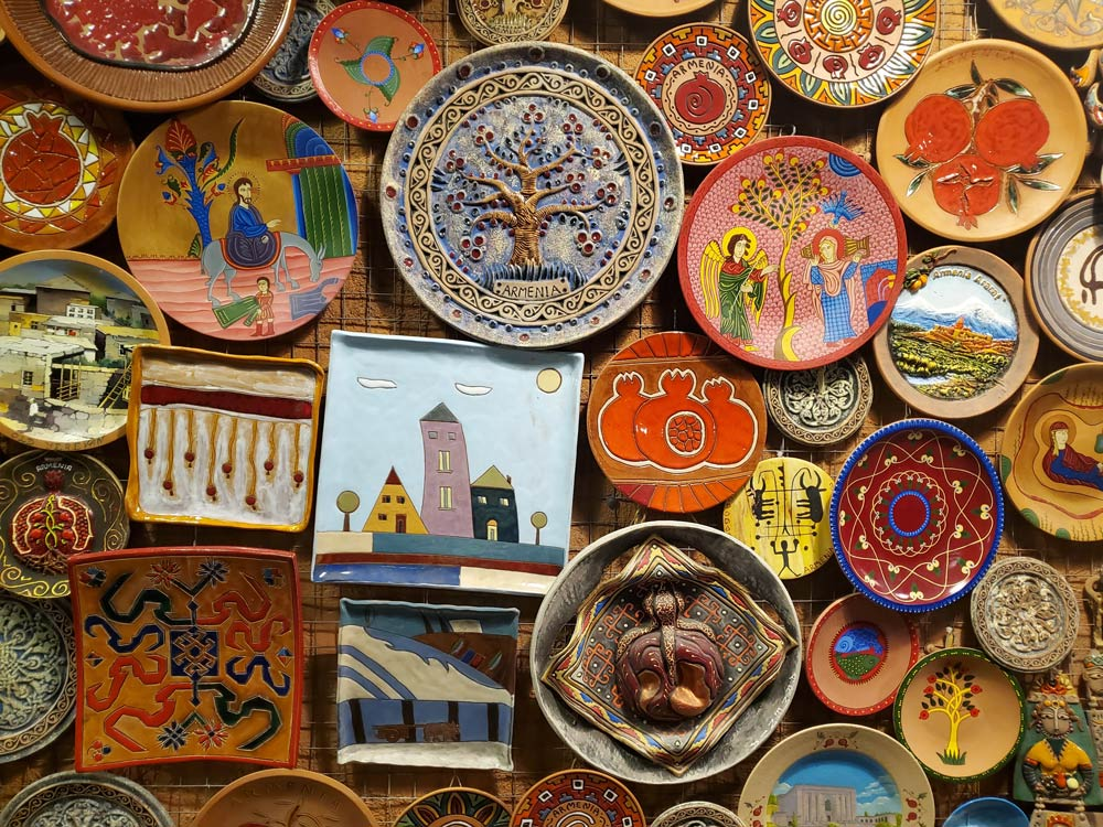 Сувениры с отдыха в Армении