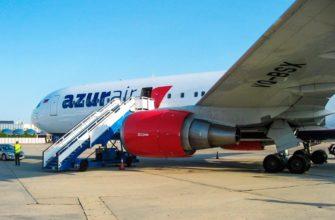 Фото самолета авиакомпании Azur air