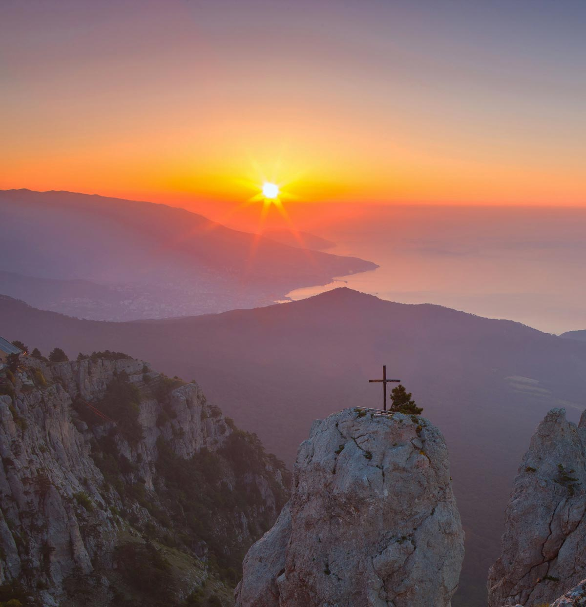 Закат на Ай-Петри