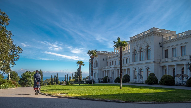 Фото дворца в Ливадии