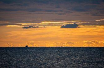 Фото моря в Крыму осенью