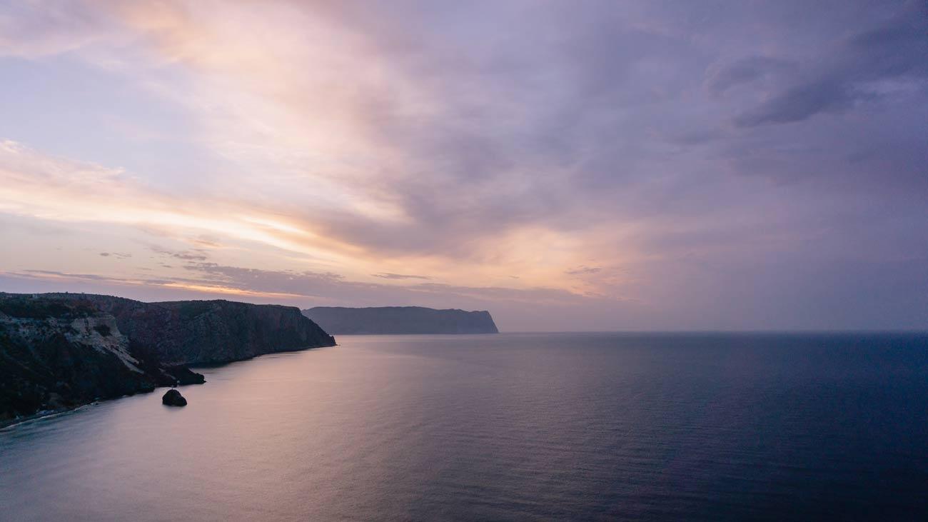 На фото Черное море