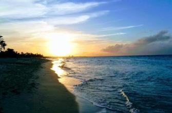 Фото пляжа на Кубе